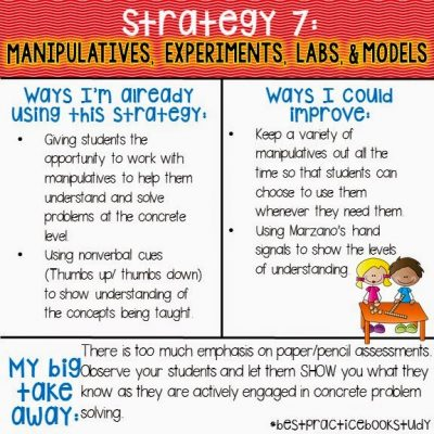 Worksheets Don't Grow Dendrites: Strategy 7