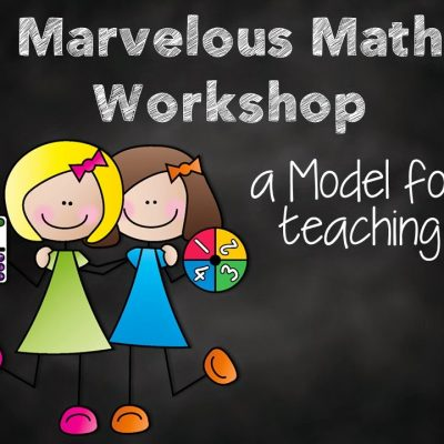 Math Workshop Model with FREEBIES
