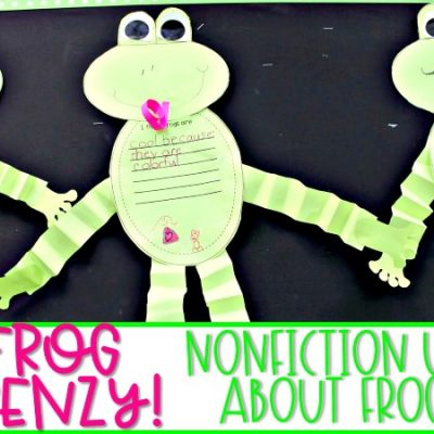 Frog Frenzy! Learning all about Frogs