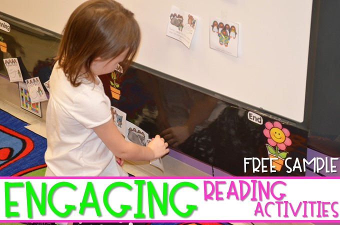 Engaging Reading Activities For Kindergarten And First Grade
