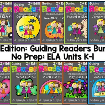 Guiding Readers 2nd Edition Book List