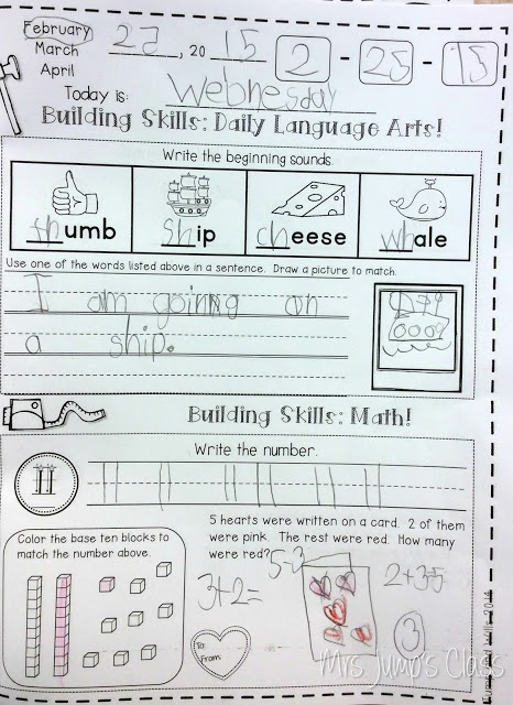 Kindergarten calendar activities and student calendar journals worksheets. Minutes a day for spiral review of math and literacy skills. Grab your free sample!