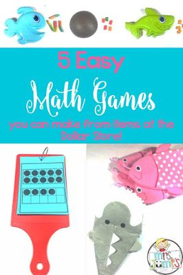 5 Math Games You Can Make From the Dollar Store