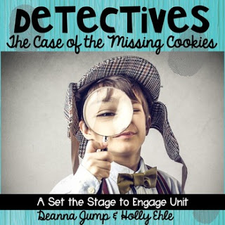 Case of the Missing Cookies: A Cookie Detective Unit