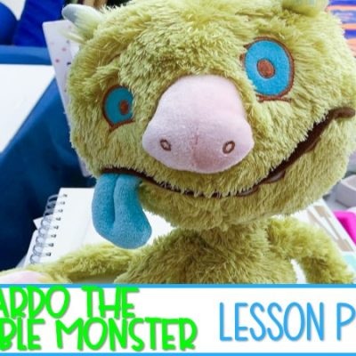 Leonardo the Terrible Monster Reading Lesson Plans for K-1