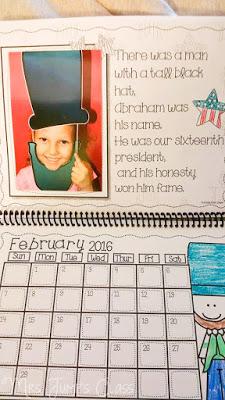 Christmas Calendar Parent Gift Ideas for the Classroom. Students will make a parent calendar.