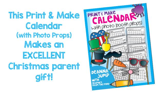 christmas calendar parent gift ideas for the classroom students will make a parent calendar