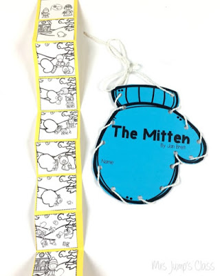 The Mitten Lesson Ideas with a free file for kindergarten and first grade. Reading lessons with retelling help students's reading comprehension!