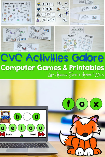 CVC Computer Games! AND MORE