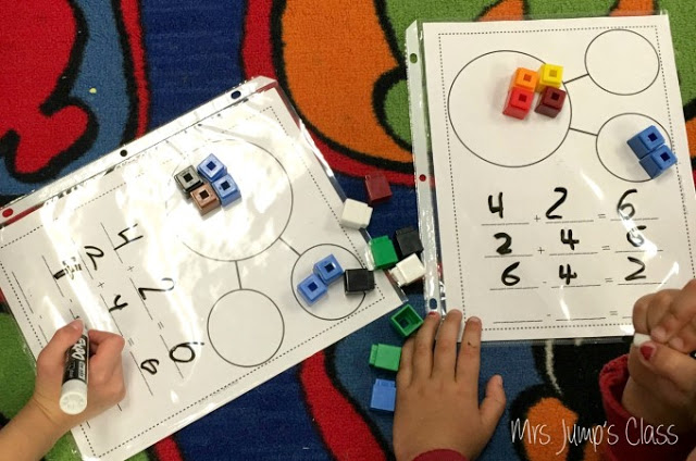 Math Workshop Plans for Kindergarten and First Grade. Simply Print and TEACH!