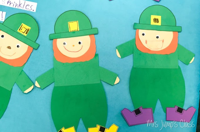 Leprechaun punch classroom ideas for kindergarten and first-grade.