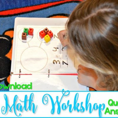 10 Questions Answered about Math Workshop (FREE File)