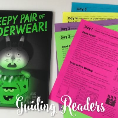 Creepy Underwear Lesson Plans