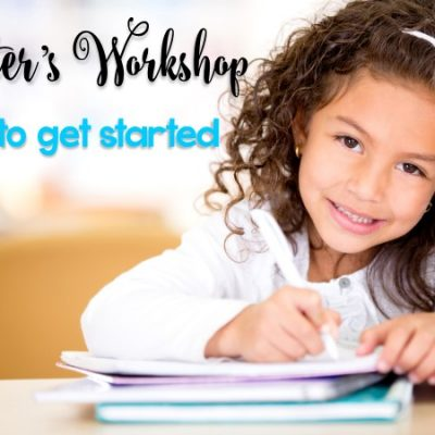 How to Get Started with Writer's Workshop in Kindergarten and First Grade