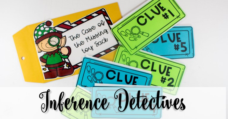 Christmas Inference Detectives Kindergarten First-Grade