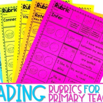 Reading Rubrics for the Primary Grades