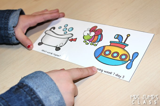 Phonological awareness activities that teach rhyming. Your kindergarten and first grade students will love these fun lessons ideas to reinforce rhymes. Great for reading intervention during your small group RTI time.