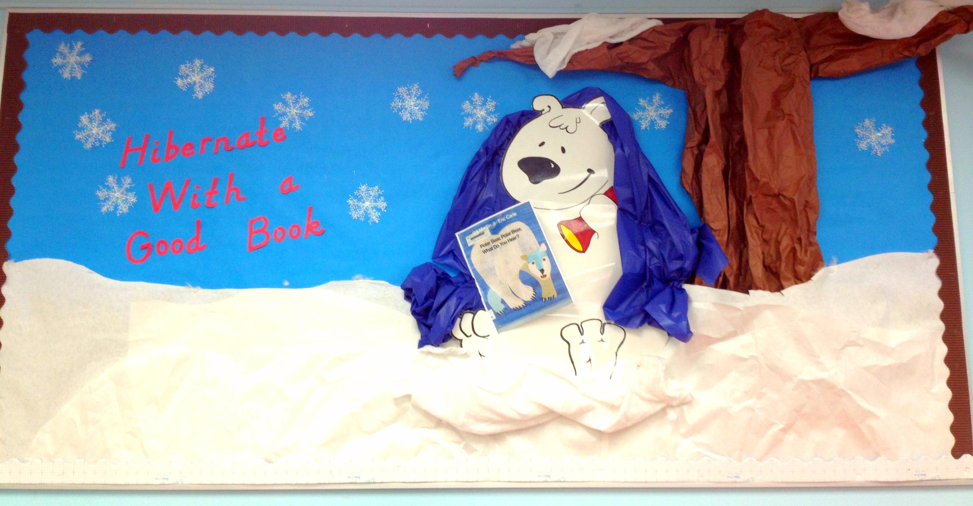Winter Bulletin Board Ideas For December Or January