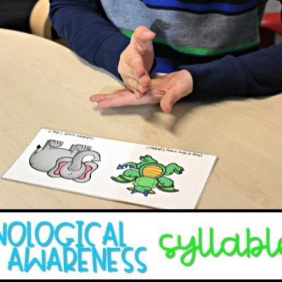 Teaching Phonological Awareness | Syllables