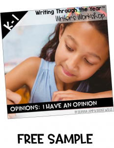 opinion writing free sample