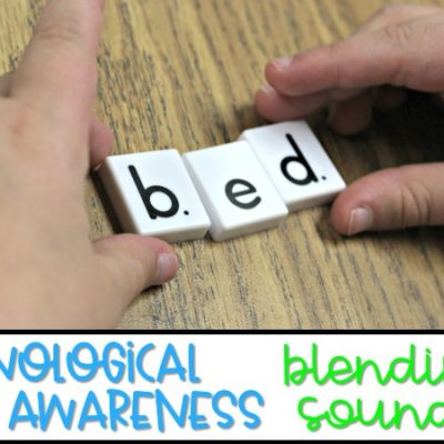Teaching Phonological Awareness | Blending Sounds