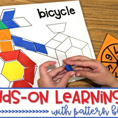 Hands-On Learning | Pattern Blocks with a FREE Math Activity