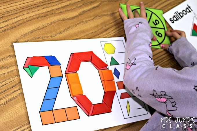Hands-on learning with these math and literacy activities for kindergarten and first grade. Independent activities to be used at any time during the day.