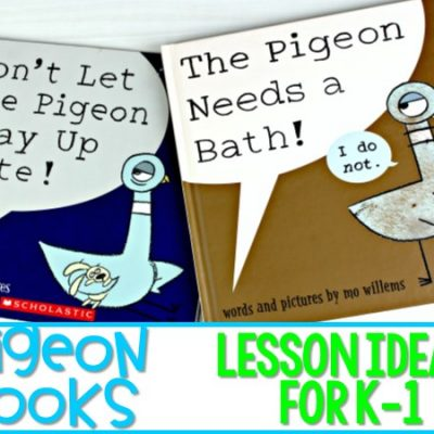 Pigeon Books: K-1 Lesson Ideas