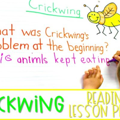 Crickwing Reading Lesson Plans