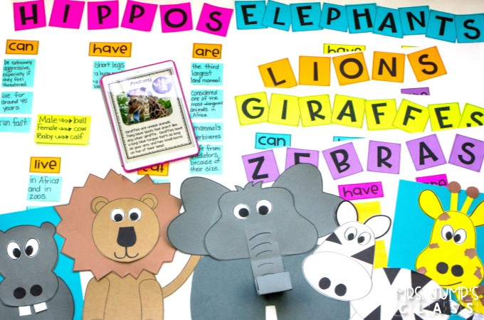 Zoo Animals unit packed full fun ideas and activities! Reading comprehension, learning about animals, close reading passages, crafts, and more!