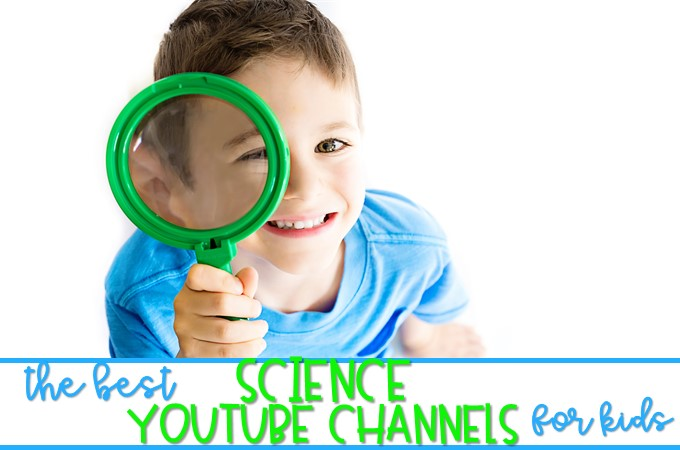 Science videos for kids to use in a primary classroom. My favorite YouTube Science channels to find educational videos for kindergarten, 1st, and 2nd grade!