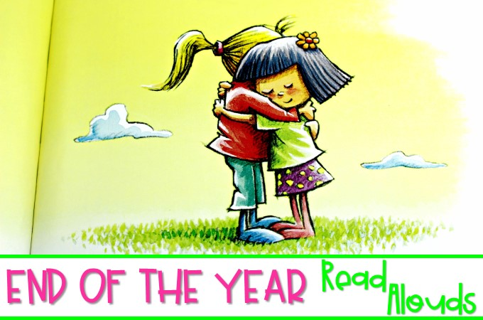 10 end of the year books for kindergarten and first grade. These sweet picture books make great read alouds to help you say goodbye to your students.