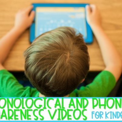 15 Phonological and Phonemic Awareness Videos for Kindergarten