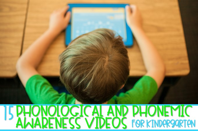 Phonological and Phonemic awareness videos for kindergarten. Syllables, cvc words, vowels, digraphs, and more! Fun and engaging videos for your classroom!