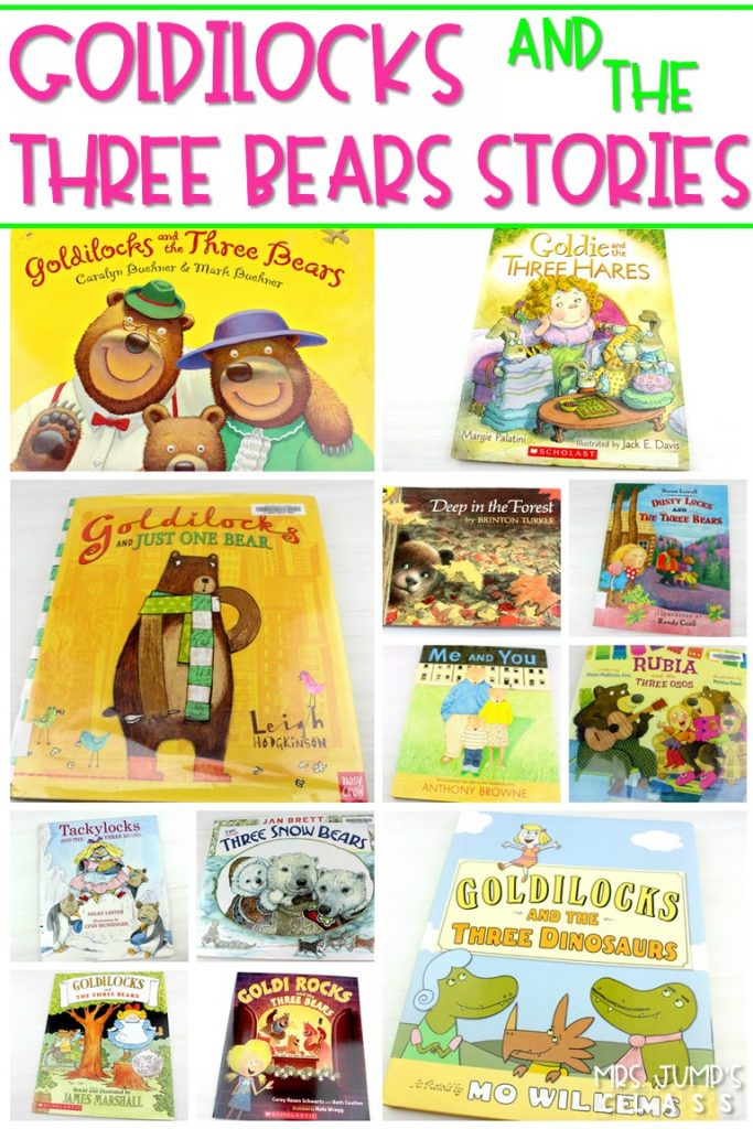 Goldilocks and the three bears stories. 23 different versions of this classic story. Have fun comparing and contrasting these fractured fairy tales. #goldilocksandthethreebears #fracturedfairytales #goldilocksversions