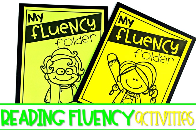 Reading fluency activities to help you focus on fluency in your classroom. Weekly fluency activities that can be completed in class or at home!