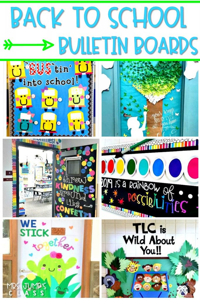 Back to School Bulletin Board Ideas! Here are some of my favorite bulletin board ideas I found that are perfect for back to school.