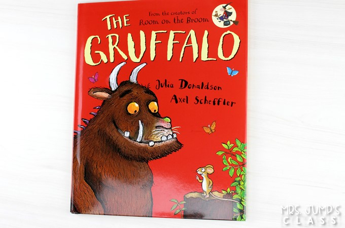 The Gruffalo lesson plans for K-2. Engaging 5-day lesson plans with differentiated reading response, vocabulary, sentence study, and a craft for this fun story!