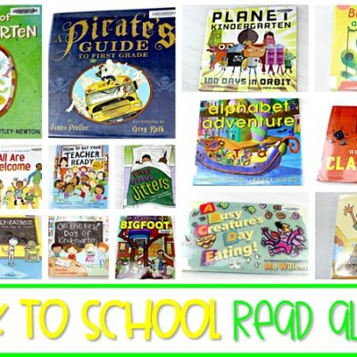 25 Back to School Read Alouds for the Primary Classroom