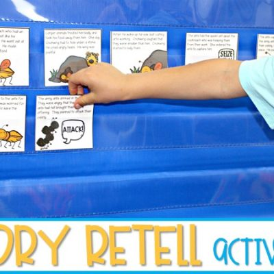 Story Retell Activities Using Authentic Texts for K-2