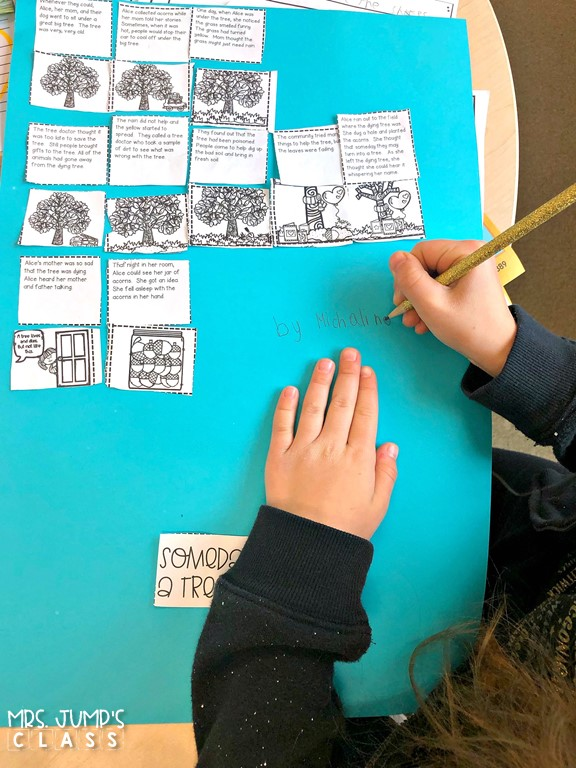 Story retell activities to practice and improve reading comprehension skills and strategies. Story retell cards for whole group and individual practice.