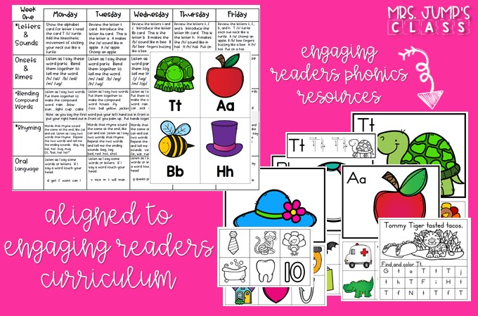 Phonemic and phonological awareness lessons for kindergarten and first grade. These daily, 10-minute lessons will lead to reading and writing success!