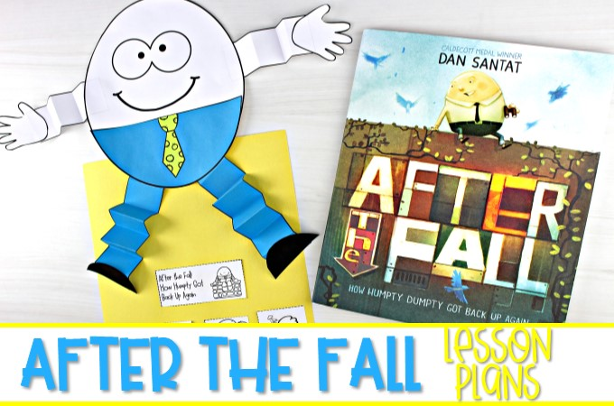 After the Fall (Humpty Dumpty) reading comprehension lesson plans. Students respond to literature while developing reading comprehension strategies, vocabulary, and grammar.