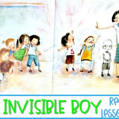 The Invisible Boy Read Aloud Activities | Lesson Plans for K-2