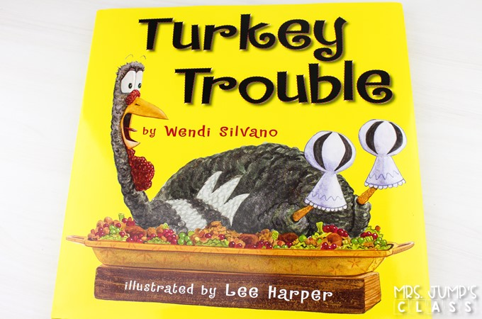 Turkey Trouble reading comprehension lesson plans. Responding to literature activities, vocabulary studies, center ideas, and fun crafts!