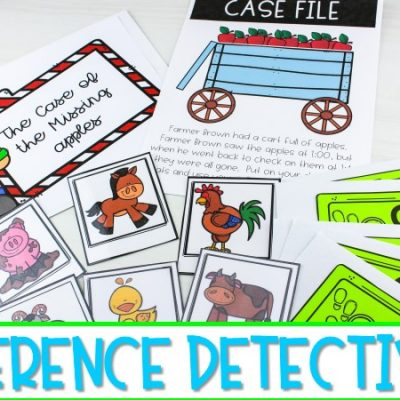 Students Practice Making Inferences as Inference Detectives in K-1