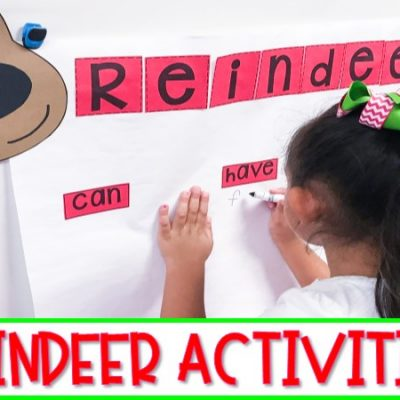 Reindeer Activities | Nonfiction Unit About Reindeer and a FREEBIE!