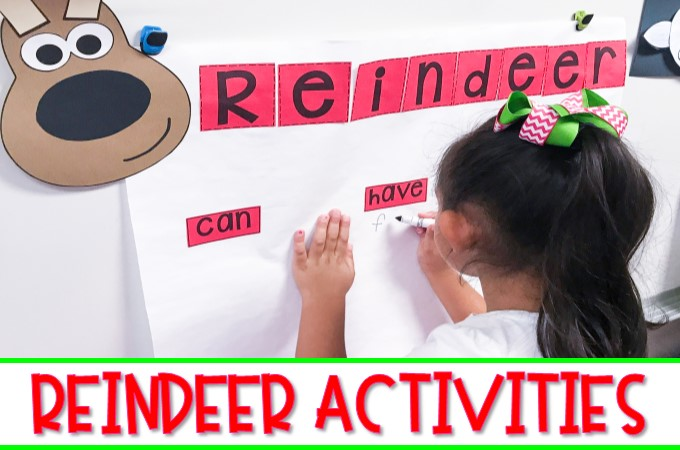 Kindergarten and first grade students will love learning about reindeer with these engaging reindeer activities. Informational texts, response to reading, directed drawing, and more!
