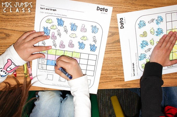 Graphing Activities to practice measurement and data. Concrete, pictorial, and abstract activities to develop a deeper understanding of mathematics.
