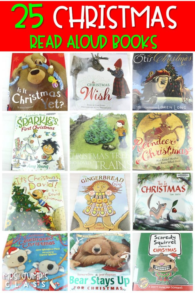 Christmas read aloud books for kindergarten and first grade. These are some of my favorite books to read during the month of December. #christmasreadaloudbook #christmasintheclassroom #holidayreadalouds